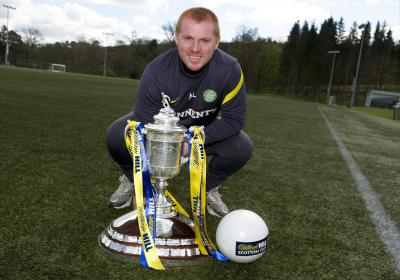 Neil Lennon has his sights set beyond the Scottish Cup