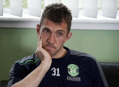 Mark Brown says Hibernian have struggled with the pressure of following Dunfermline Athletic in recent games. Picture: SNS