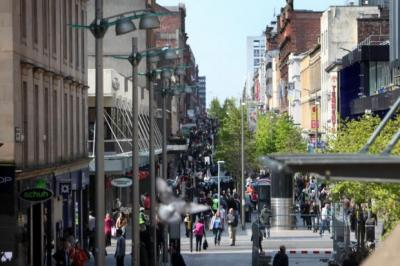 snapshot: Retailers on Sauchiehall Street in Glasgow are among those feeling the effects of having to pay 'unfair' pre-downturn business rates. Picture: Marc Turner