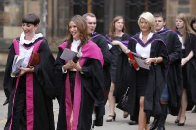 A DEGREE OF CHANGE: Access to university is tightly controlled, with pupils given priority depending on their examination results. Picture: Martin Shields