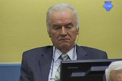 ACCUSED: Prosecutors claim Ratko Mladic is guilty of war crimes.