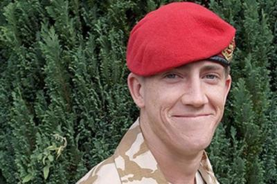 KILLED: Lance Corporal Michael Pritchard.