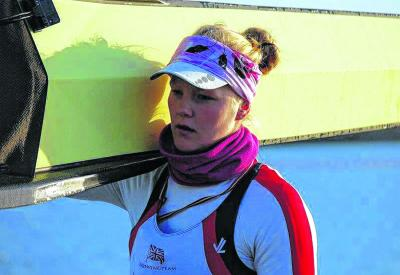 Edinburgh's Polly Swann has  taken a sabbatical from a medicine degree to concentrate on rowing