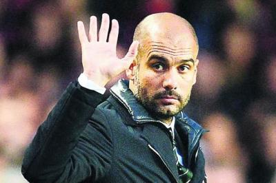 Pep Guardiola's stock could rise with time out of the gamePhotograph: AFP