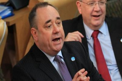 SUPPORT: First Minister Alex Salmond insisted the symbolic vote was a major step. Picture: Stewart Attwood