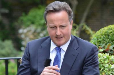 DAVID CAMERON: His Government has made 21 climbdowns -- some claim 34 -- but he says no-one believes it lacks resolve. Picture: PA