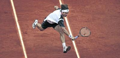 Yesterday's win  was David Ferrer's fourth over Andy Murray on clay. Picture: PA