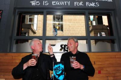 CRAFT: BrewDog has opened seven bars in the UK, including one in Edinburgh's Cowgate. Picture: Julie Howden