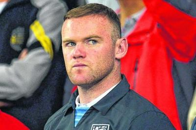 Wayne Rooney will return on TuesdayPhotograph: EPA