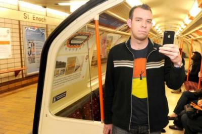 OUTCRY: Web designer David Bennett, who started the Picture Our Subway online campaign to protest the photo ban, has welcomed the revised proposals.