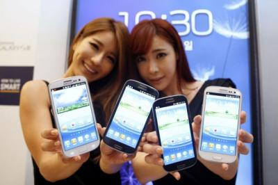 GOOD CALL: Wolfson will provide chips for the new Samsung Galaxy S III smartphone. Picture: Reuters