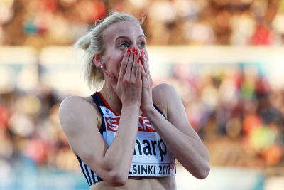 Lynsey Sharp: 'Frankly, I never expected to be chosen'