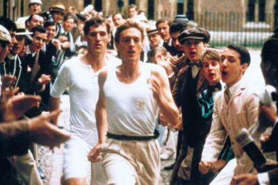 TIMELESS: A scene from Chariots of Fire, a film about values and choices that Lord Puttnam believes is just as pertinent today as the day it was first released.