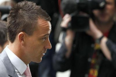John Terry was found not guilty of racial abuse   Photograph: Reuters