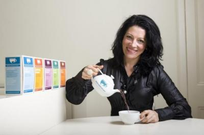 I'LL BE MUM: Founder of specialist tea company Mama Tea, Anna Louise Simpson, said the firm has spent the past year getting ready for a period of expansion. Picture: Lloyd Smith