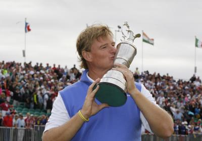 Ernie Els was thought to be in decline before he secured a rousing Open Championship victory at Lytham on Sunday evening. Picture: Getty Images