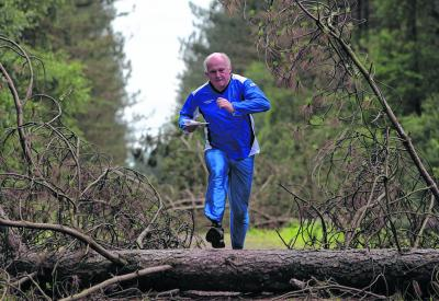 Brian Porteous hopes to break orienteering into the Olympics. Picture: Steve Cox