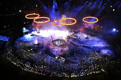 The spectacular opening ceremony