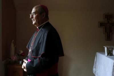 Bishop Tartaglia is already at the centre of the debate over homosexuality and marriage