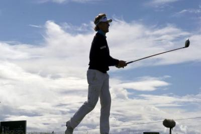 Bernhard Langer has a one shot lead   Photograph: SNS