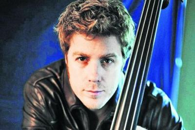 MASTERLY: Kyle Eastwood  leads with double bass and a singular talent.Picture: Rob Shanahan