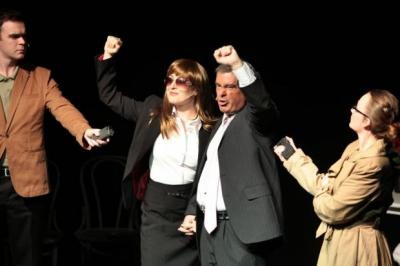 Des McLean and  Michele Gallagher play Tommy and Gail Sheridan as shallow publicity-seekers in Ian Pattison's new play I, Tommy, which relentlessly ridicules the former SSP leader but neglects to address the darker side of his ruthless behaviour