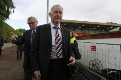 PUNISHED: Rangers chief executive Charles Green has been charged by the SFA with bringing the game into disrepute