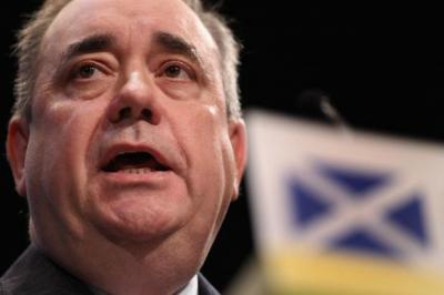 POWERS: An email from First Minister Alex Salmond's office provides a link to a Unite poll favouring a second question. Picture: Getty Images