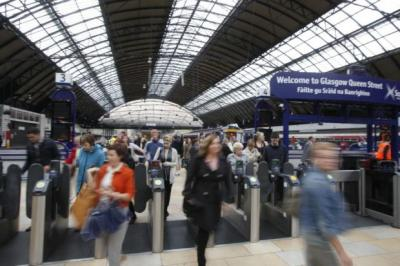 PRICE TO PAY: Travellers arriving at Glasgow Queen Street and stations throughout Scotland face an even higher cost for their journey in the new year. Picture: Martin Shields