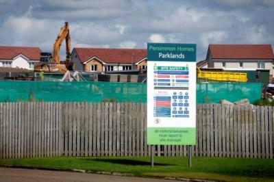 BUILDING SUCCESS: Persimmon has enjoyed a huge rise in home reservations and hopes the scheme for new buyers will generate even more interest. Picture: Kirsty Anderson