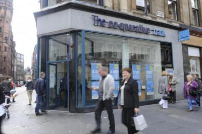 LEADER: The Co-operative's banking presence in Scotland will balloon when the Lloyds Project Verde deal is completed. Picture: James Galloway