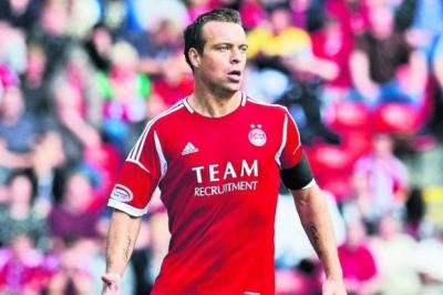 Gavin Rae feels playing with two wingers can take Aberdeen to a new level 	           Photograph: SNS