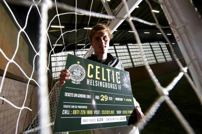 Thomas Rogne is eager to prolong his stay at Celtic