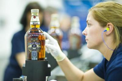DeMAND: Chivas Regal whisky is becoming increasingly popular in emerging markets such as Brazil and China.