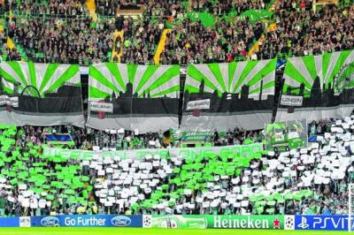 Celtic's Champions League entry has given a filip to the beleagured Scottish gamePhotograph: SNS