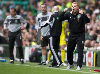 Neil Lennon will submit his Champions League squad today