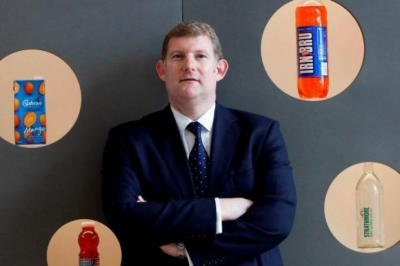 LEADER: AG Barr chief executive Roger White would head the new soft drinks firm under the ambitious plans.