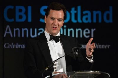 GEORGE OSBORNE: Insists UK economy is on the mend