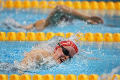 Ellie Simmonds swims to silver in the 100m freestyle   Photograph: Getty