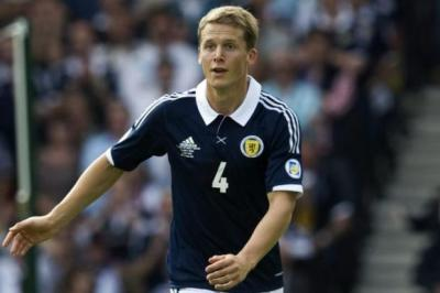 Christophe Berra only joined up with the squad on Thursday evening