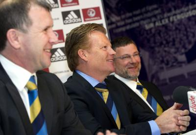 Craig Levein has been involved with the SFA since before the arrival of Stewart Regan and Mark Wotte. Picture: SNS