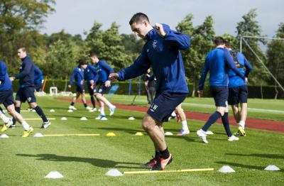 Lee Wallace decided to stay at Ibrox and has now extended his contract until 2017. Picture: SNS