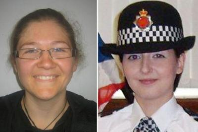 GUNNED DOWN: Fiona Bone and Nicola Hughes were answering a call-out.