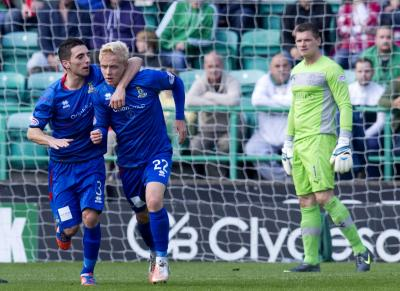 Conor Pepper hauled Inverness back into the game
