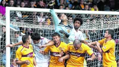 Goalkeeper Darren Randolph may be the pick of the bunch at Fir Park. Picture: SNS