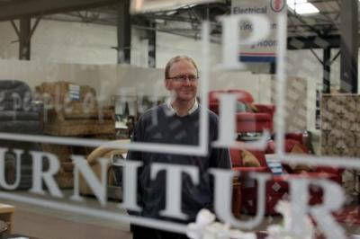 Daniel Rous, chief executive of Furniture Plus, a Fife-based recycling company