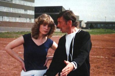Dee Hepburn and Jake D'Arcy