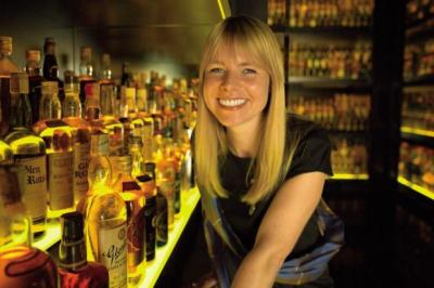 RAISE A GLASS: With Whisky Month coming up, Julie Trevisan-Hunter is expecting to continue the positive growth that has seen Brazil and China enter the top five markets. Picture: Robert Pogson