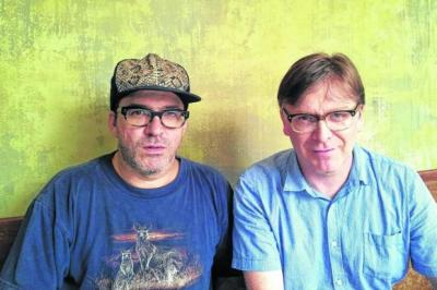 just THE TWO OF US: Joe Pernice and Norman Blake will play a stripped down New Mendicants show at The Arches in Glasgow on January 25 as part of Celtic Connections. Picture: adadadad