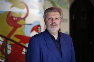 JAMES MacMILLAN: The composer and conductor is one of the busiest men around and this year has dates arranged in America, Brazil, New Zealand and India.                Picture: Colin Templeton
